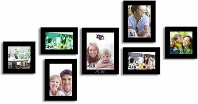 Painting Mantra Generic Photo Frame(Black, 7 Photos) at flipkart