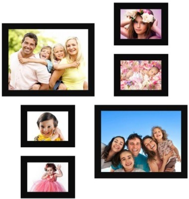Desi Birthday MDF Photo Frame(Black, 6 Photos) at flipkart