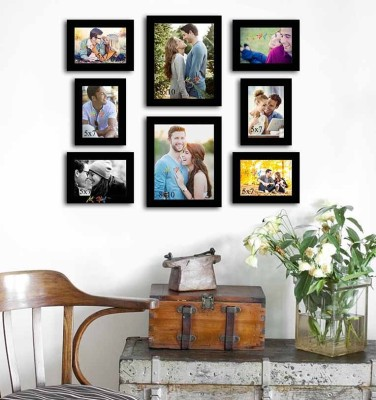Art Street Generic Photo Frame(Black, 8 Photos) at flipkart