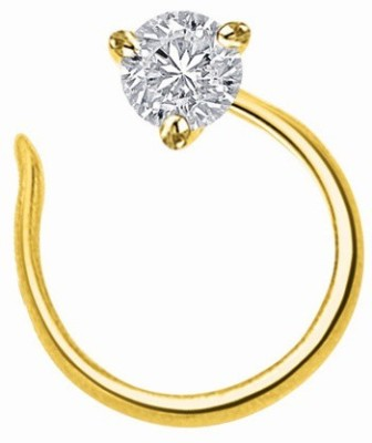 Fullcutdiamond 18kt Diamond Yellow Gold Stud at flipkart