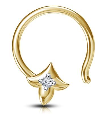 Devina Jewels Sterling Silver Nose Stud at flipkart