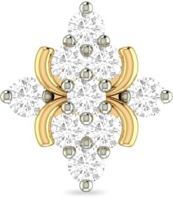 PC Jeweller The Dasmini 18kt Diamond Yellow Gold Stud PC Jeweller Nose Studs