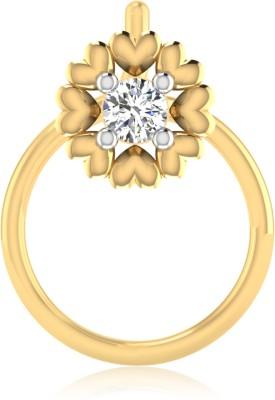 IskiUski Sara 14kt Diamond Yellow Gold Stud IskiUski Nose Studs