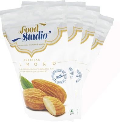 Food Studio American (Regular Badam) Almonds(1 kg, Bag)  available at flipkart for Rs.945