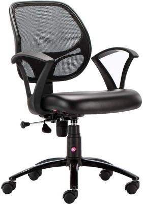 HOF Oliviya 3001 Student Leatherette Office Arm Chair(Black)