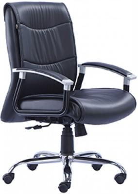 HOF ZORO 452 Premium Synthetic Fiber Office Arm Chair(Black)