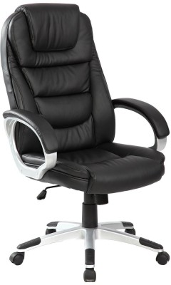 41 off on woodstock india leatherette office arm chair black black