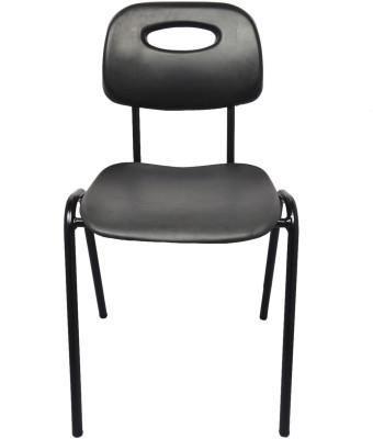 Darla Interiors Vinyl Office Visitor Chair(Black)