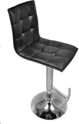 Darla Interiors Leatherette Office Visitor Chair(Black)