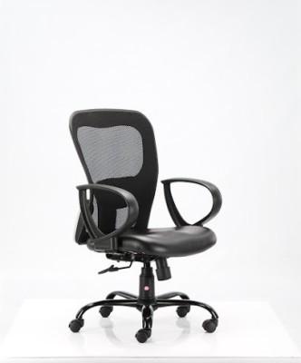 HOF oliviya 3005 Student Leatherette Office Arm Chair(Black)