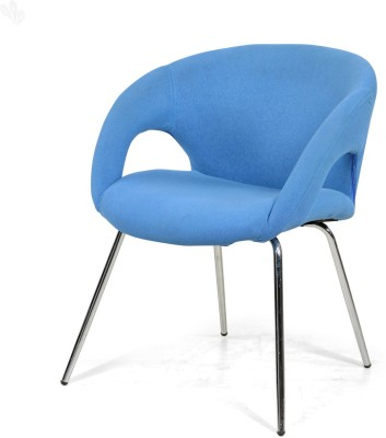 RoyalOak Anglo Leatherette Office Visitor Chair(Blue) at flipkart