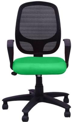 Adiko Fabric Office Arm Chair(Green) at flipkart