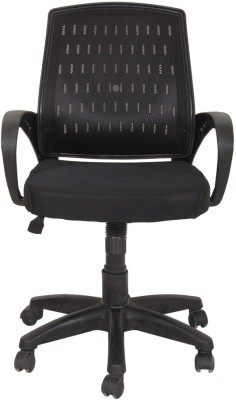 Green Soul New York High Back Office Chair Nylon Office Executive Chair(Black)