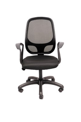 Magnus NET-802 Fabric Office Arm Chair(Black) at flipkart