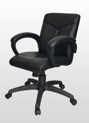 Adiko Leatherette Office Arm Chair(Black) at flipkart