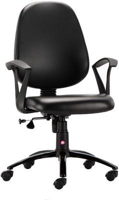 HOF Oliviya 3002 Student Leatherette Office Arm Chair(Black)