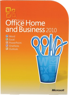 Microsoft Office Home and Business 2010 at flipkart