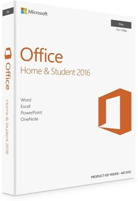 Microsoft Office Home and Student 2016 for Mac at flipkart
