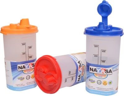 Nayasa 600 ml Cooking Oil Dispenser Set(Pack of 3) at flipkart