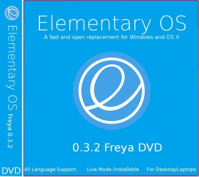 Elementary OS 0.3.1 Freya DVD 64 bit