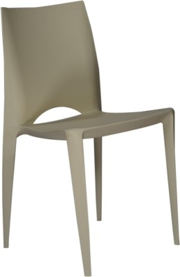 Ventura Plastic Cafeteria Chair(Finish Color - Ivory) at flipkart