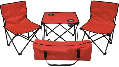 Kawachi Metal Outdoor Chair(Finish Color - Red)