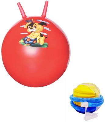 Awals Hopping Ball With Pump For Kids(Multicolor)