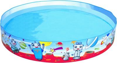 Bestway Spacebotz Fill 'N Fun Pool(Multicolor)