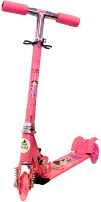 Chhota Bheem Chutki 3 Wheel Scooter - Pink GGS05 Tricycle(Pink)
