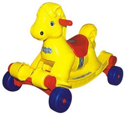 ANH Style Panda Rocking Horse(Yellow)