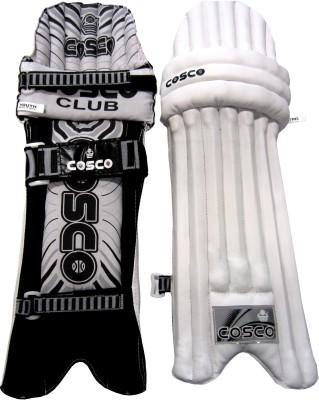 Cosco Club Men's (39 - 43 cm) Batting Pad(Multicolor)