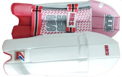 HRS Club Boys (32 - 35 cm) Wicket Keeping Pad(White, RIGHT-HANDED)