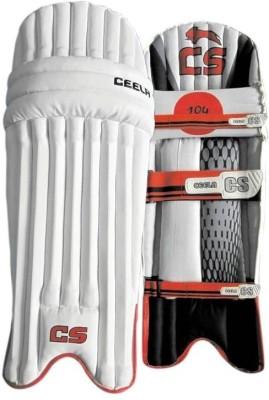 Ceela Sports Classic Youth (36 - 38 cm) Youth Batting Pad(White, Black, Ambidextrous)
