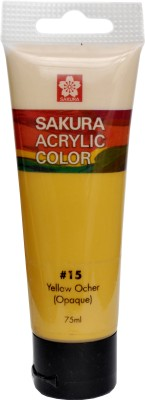Sakura Acrylic Tube(Yellow Ochre) at flipkart