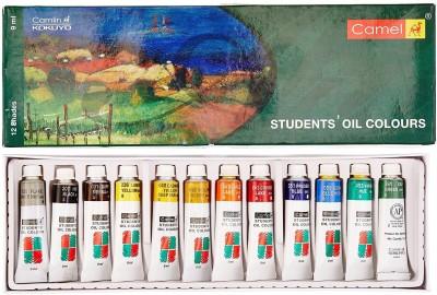 Camlin Student Oil Colour(Set of 1, Multicolour)