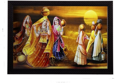 eCraftIndia Canvas 14 inch x 20 inch Painting at flipkart