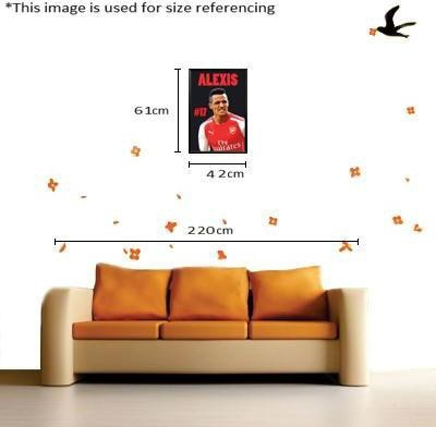 Paintcollar Alexis Sanchez M Canvas Painting(24 inch x 18 inch)  available at flipkart for Rs.5499