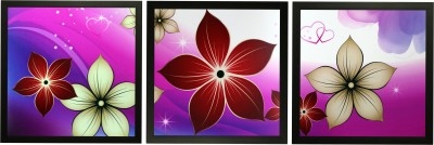 SAF Set of 3 Canvas 12 inch x 12 inch Painting at flipkart