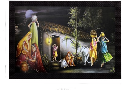 eCraftIndia Canvas 20 inch x 14 inch Painting at flipkart