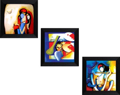 MLH Canvas 10 inch x 10 inch Painting at flipkart