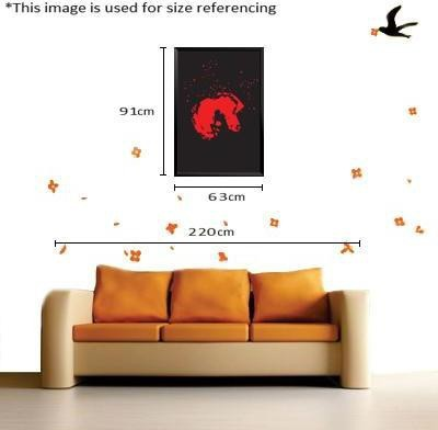 Paintcollar Death Note L Canvas Painting(36 inch x 24 inch)  available at flipkart for Rs.8199