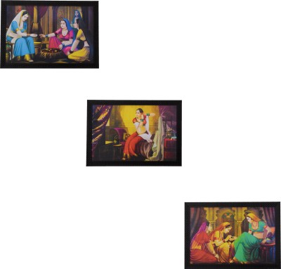 eCraftIndia Pastel 14 inch x 20 inch Painting at flipkart