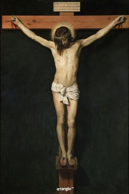 Artangle Velazquez, Diego Rodriguez de Silva y - Christ Crucified, Ca. 1632 Art Print Digital Reprint Painting(18 inch x 12 inch)  available at flipkart for Rs.299