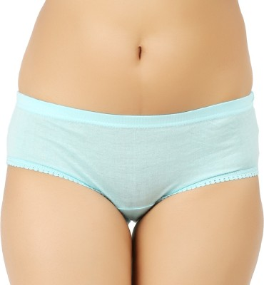 Vaishma Women's Brief Green Panty(Pack of 1)  available at flipkart for Rs.98