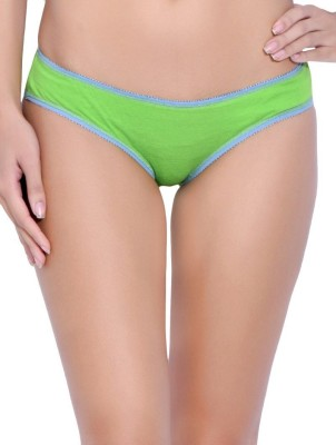 Sovam Women's Bikini Green Panty(Pack of 3)