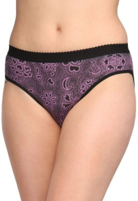 Sovam Women's Bikini Purple Panty(Pack of 1)