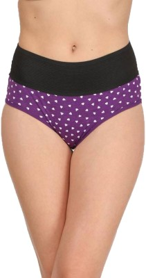 Embibo Women's Hipster Purple Panty(Pack of 1)