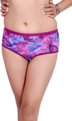 Pusyy Women Hipster Red Panty(Pack of 1)