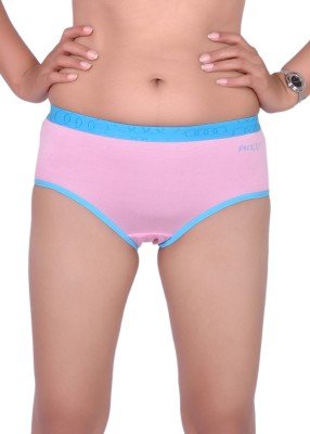 Pusyy Women Hipster Pink Panty(Pack of 1)