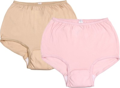 Ever Sures Reusable Medium Incontinence Women's Brief Pink, Beige Panty(Pack of 2)  available at flipkart for Rs.595